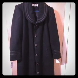 Jackets & Blazers - Women wool maxi coat